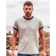 T-shirt biologique pour homme 150 g - Superstar Retro Ringer