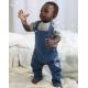 Salopette publicitaire - Baby Rocks Denim Dungarees