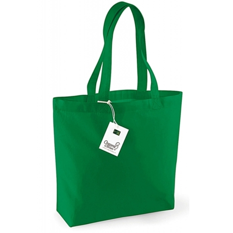 Sac shopping coloré en coton Bio - 170 grs