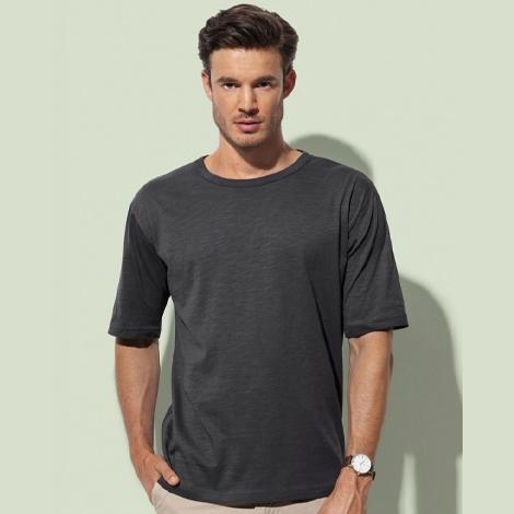 T-shirt bio publicitaire pour homme 130 g - Organic Slub