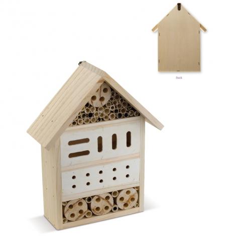 Hôtel à insectes publicitaire - TopEarth