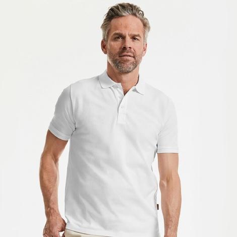 Polo publicitaire pour homme 215 gr - Pure Organic