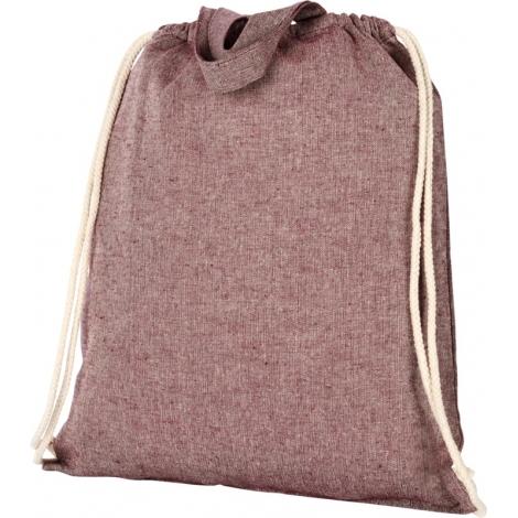 Sac publicitaire coton recyclé 150 g avec cordon - Pheebs