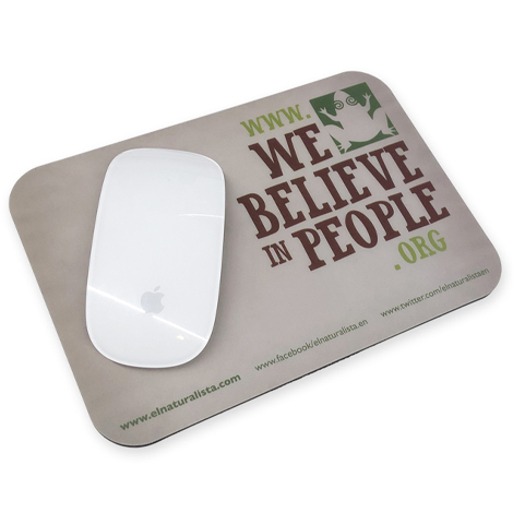 Tapis de souris publicitaire en PP recyclable