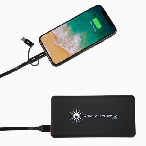 Chargeur solaire promotionnel 5000 et 8000 mAh