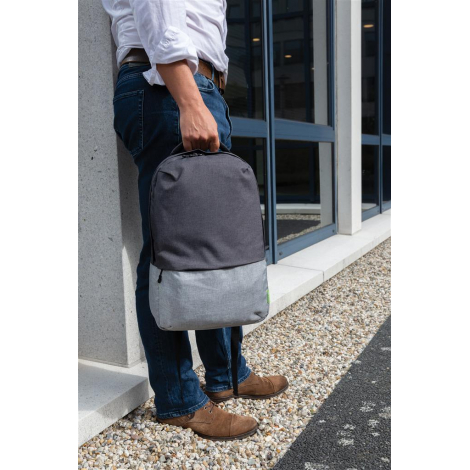 Sac ordinateur en rPET publicitaire - Duo color