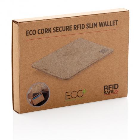 Porte-cartes anti RFID publicitaire en liège
