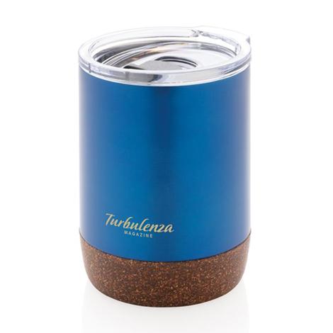 Tasse isotherme publicitaire finition liège - 180 ml