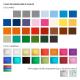 Crayon personnalisable rond vernis incolore - Eco 17,6 cm