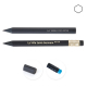 Crayon personnalisable hexagonal - Prestige Black 8,7 cm
