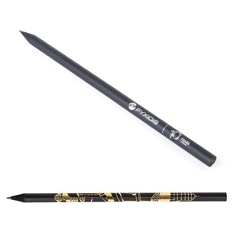 Crayon publicitaire rond - Prestige Black 17,6 cm