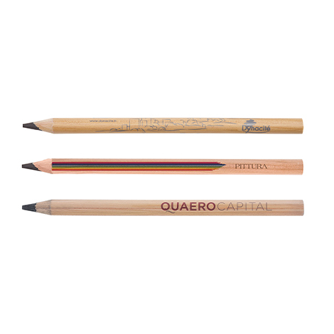 Crayon publicitaire vernis incolore - Prestige Big Graphite