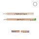 Crayon de bois promotionnel rond sans vernis - Eco 8,7 cm