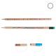 Crayon de bois publicitaire rond sans vernis - Eco 17,6 cm