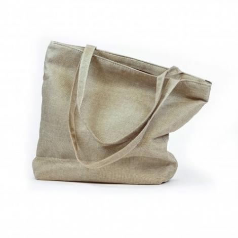 Sac shopping publicitaire en coton recyclé 150 gr/m² - Recyclo
