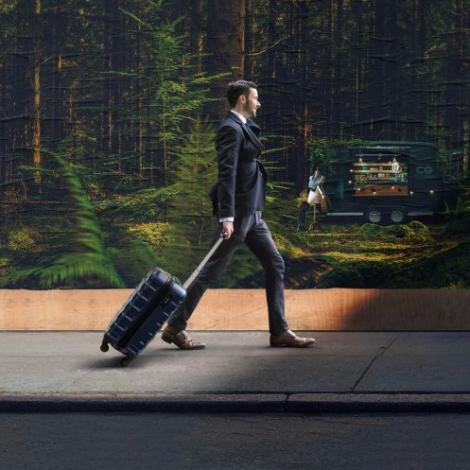 Valise cabine publicitaire - Ecofly