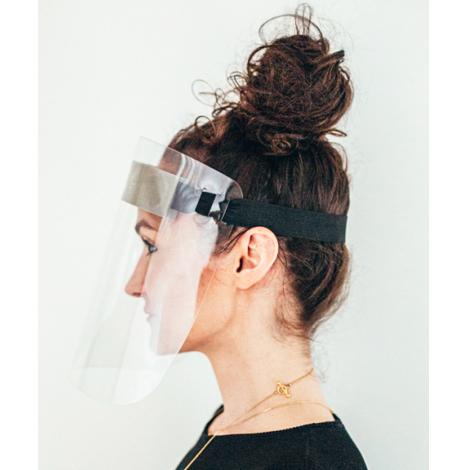 Visière de protection avec mousse frontale - The Alloy