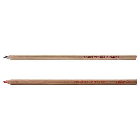 Crayon personnalisé sans vernis Prestige Naturel - Cœur