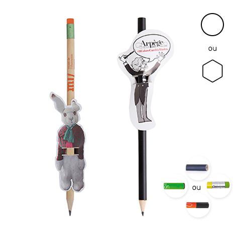 Crayon publicitaire sur-mesure - Le Messager