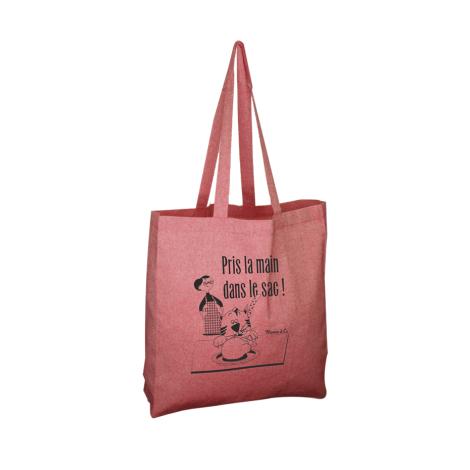 Tote bag publicitaire en coton recyclé 150 gr - Jhansi