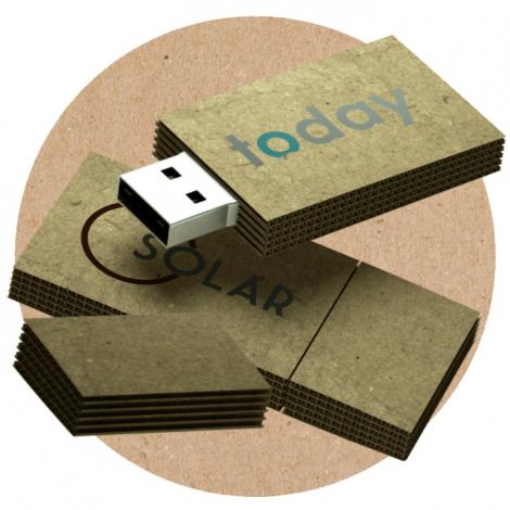Clé USB en carton publicitaire - Cardbord