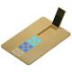 Clé USB en plastique recyclé publicitaire - Color Card ECO