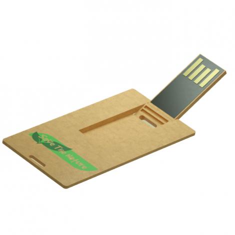 Clé USB en plastique recyclé publicitaire - Small ECO