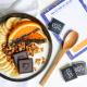 Carrés chocolat noir personnalisés bio et équitable