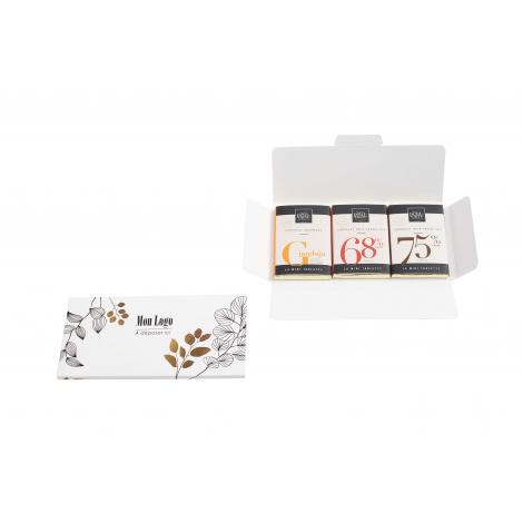 Carte 3 mini tablettes promotionnelle 30Gr