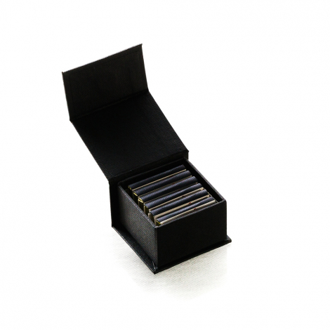 Coffret carrés de chocolat personnalisable Écrin