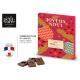 Calendrier de l'Avent personnalisable Chocolat français