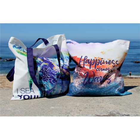 Tote bag personnalisable 100% Seaqual™