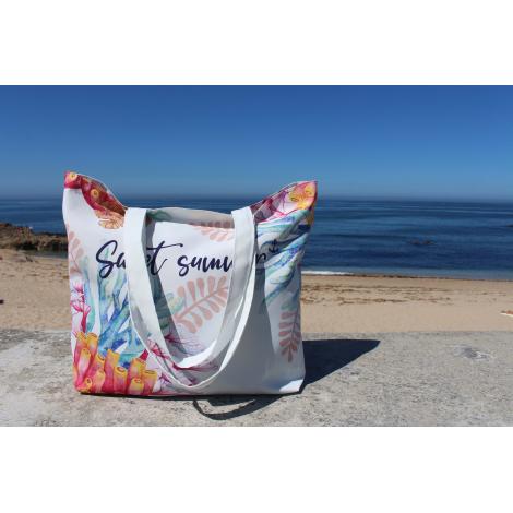 Sac personnalisable 55% coton recyclé et 45% Seaqual™