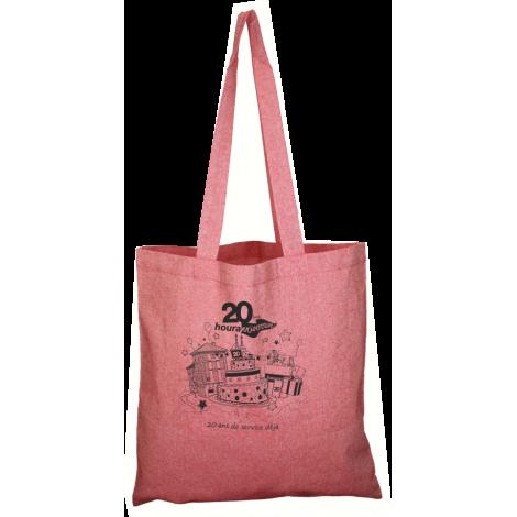 Sac shopping en coton recyclé personnalisable 150 gr - Nazik