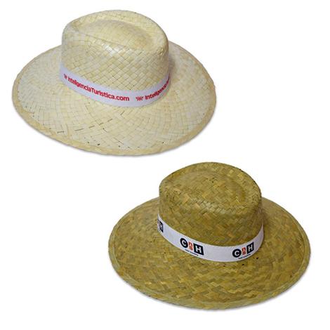 Chapeau de paille femme publicitaire