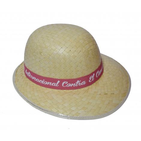 Chapeau de paille publicitaire pour femme