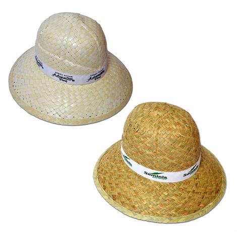 Chapeau de paille personnalisable - SAFARI