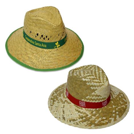 Chapeau de paille personnalisé - Indiana