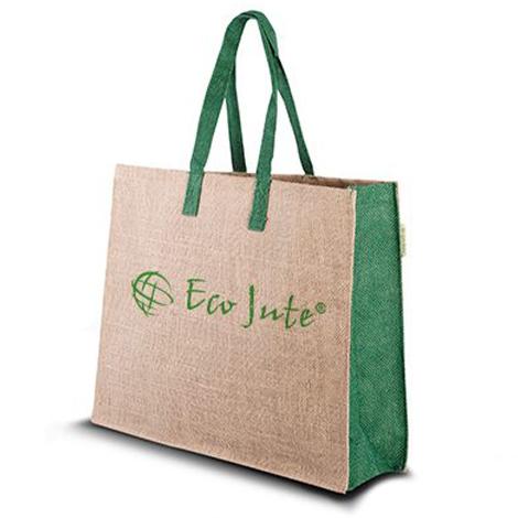 Sac en jute publicitaire - Eco Green