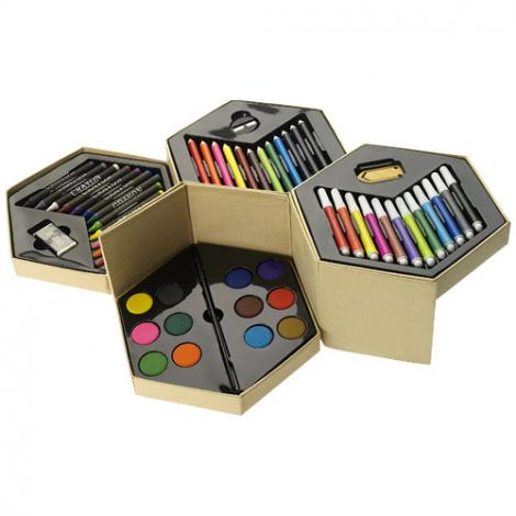 Set de coloriage publicitaire - 52 pièces - multicolore