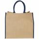 Grand sac shopping publicitaire - JUTE