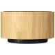 Haut parleur bluetooth publicitaire en bambou - COSMOS