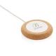 Chargeur induction en liège et paille de blé personnalisable
