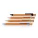 Stylo publicitaire en bambou et fibre de paille