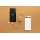Câble de chargement publicitaire en liège et fibre de paille