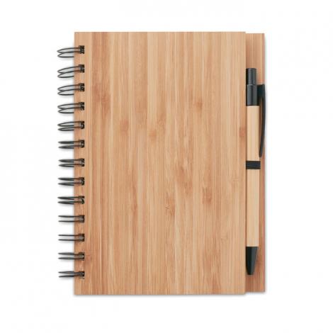 Carnet de notes publicitaire bambou - Bambloc