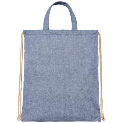 Sac personnalisé en coton recyclé 210 g avec cordon - Pheebs