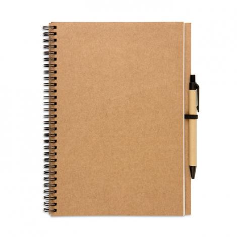 Bloc-notes papier recyclé personnalisable - BLOQUERO PLUS