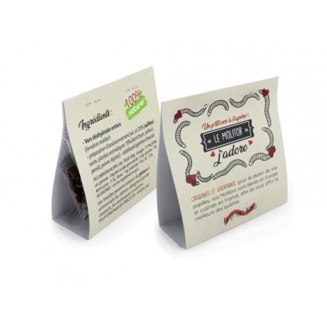Insecte en sachet ou pot personnalisable