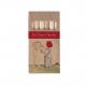 Etui publicitaire de 6 ou 12 crayons aquarelle 8.7 cm sans vernis